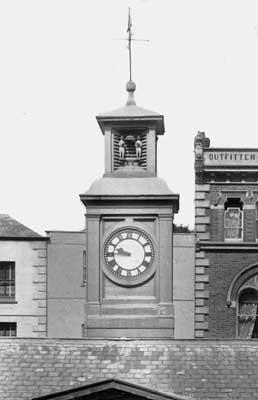The Butter Market Clock.