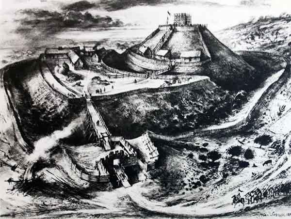 early-launceston-castle