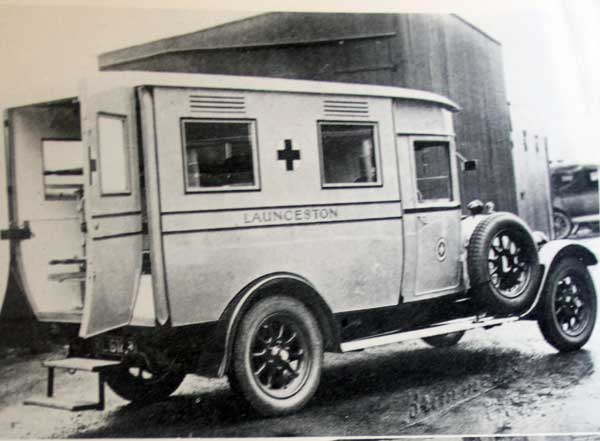 The 1927 Austin Ambulance
