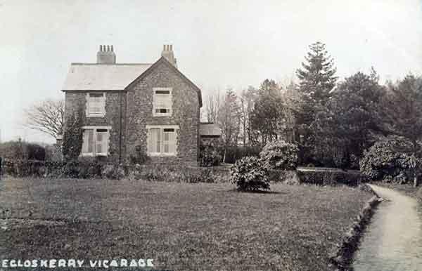 Egloskerry Vicarage c.1910.