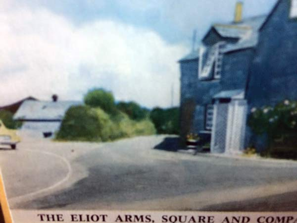 Eliot Arms c.1950's. Photo courtesy of Trevor Hume.