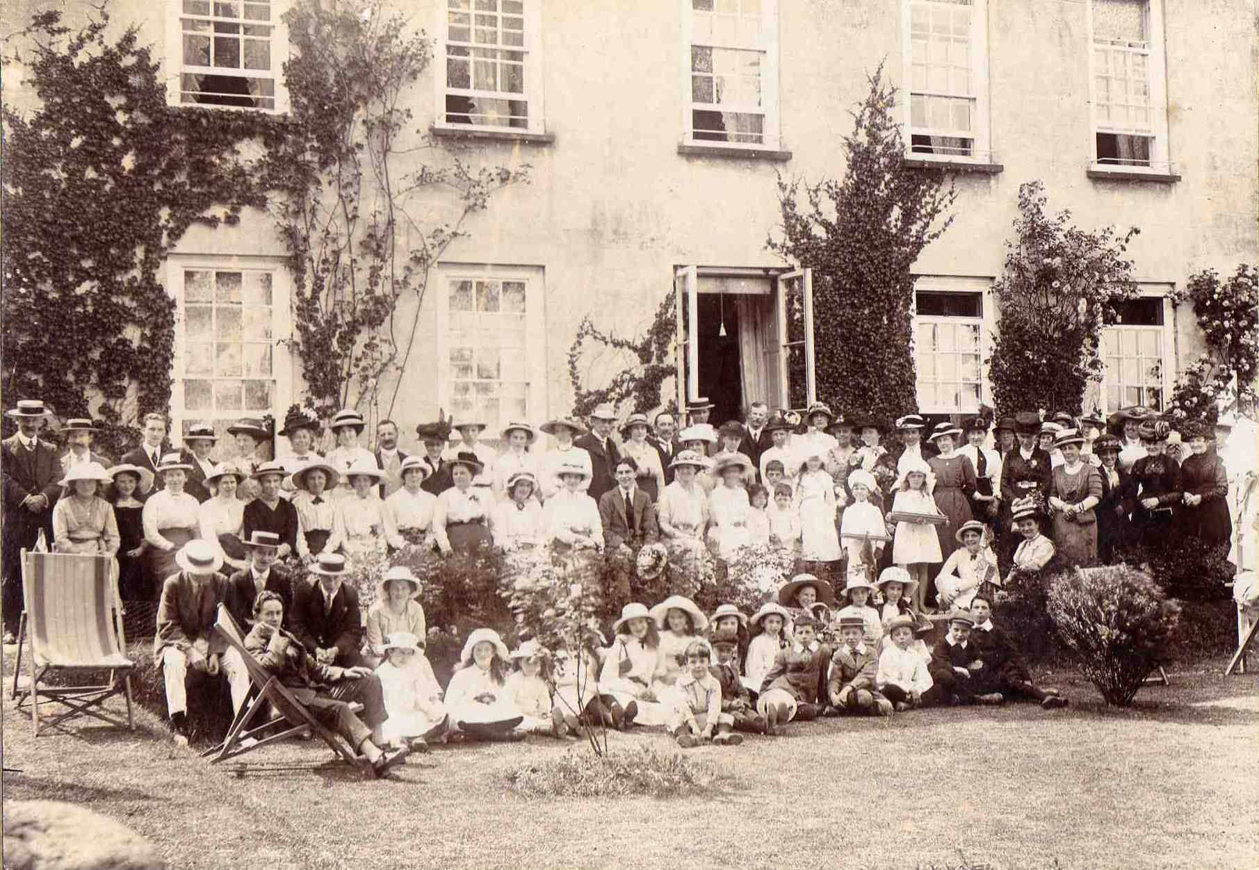 Event at Lifton Rectory. Photo courtesy of Ray Boyd.