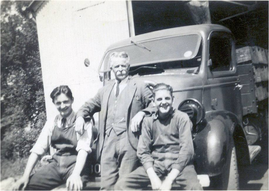 J. S. Eyre works with George (the driver), Tom Hicks and Henry (factory boy).