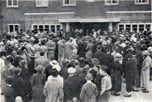 The official opening of the new Launceston Hospital by Dr. Charles Gordon Gibson in August 1938.
