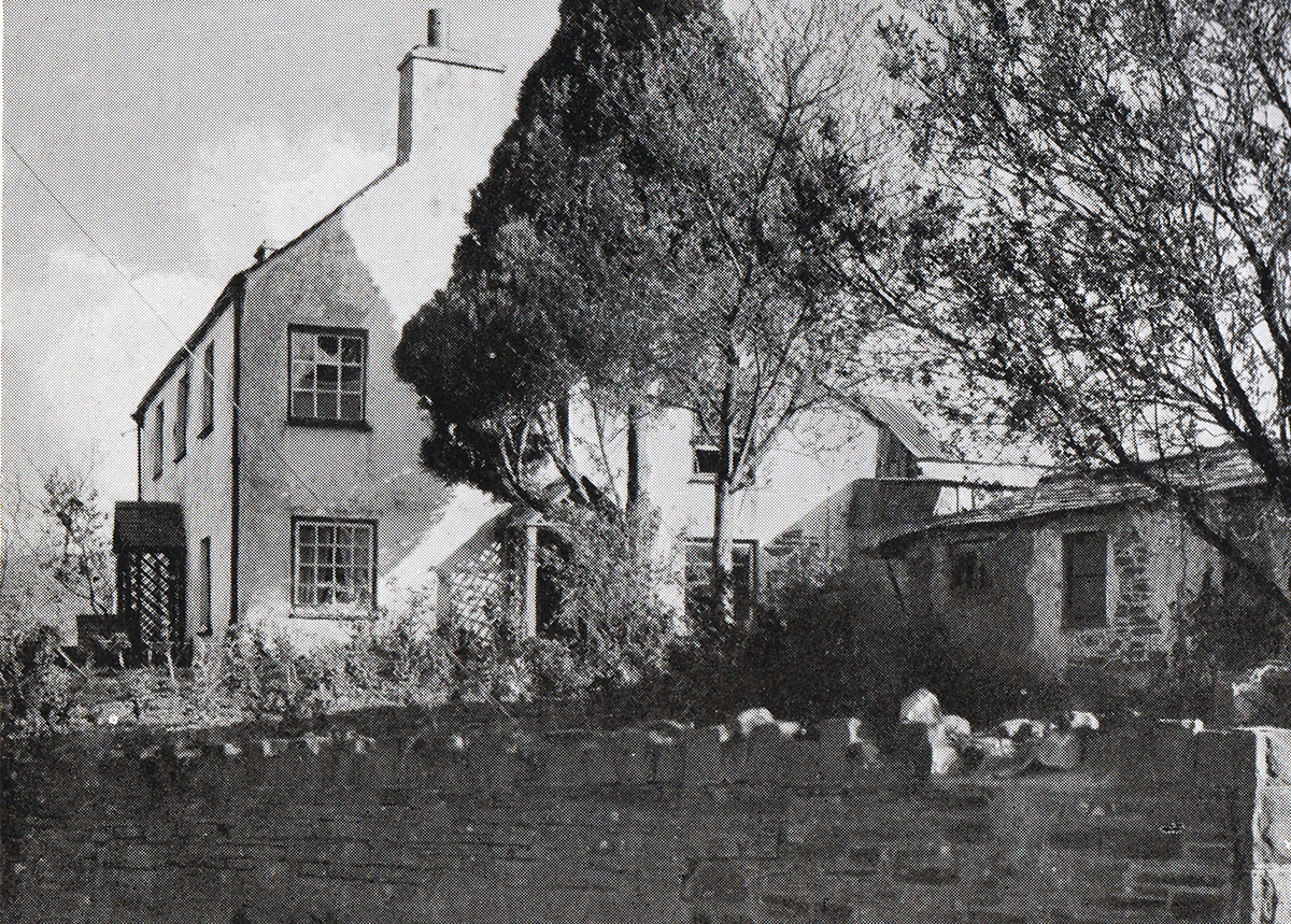 House in Fore Street, Lifton in 1948.