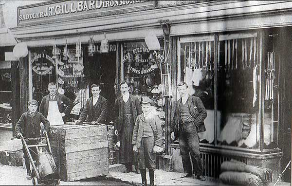 j-t-gillbard-high-street-launceston-1890s
