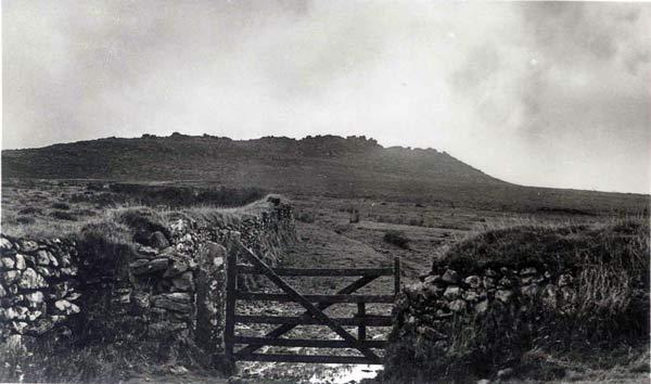 Kilmar Tor, North Hill.