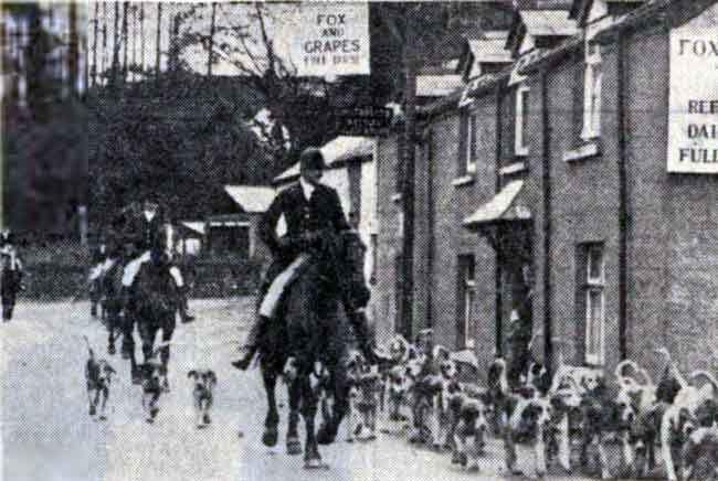 lamerton-hunt-with-the-master-capt-g-babbington-at-lifton-1938