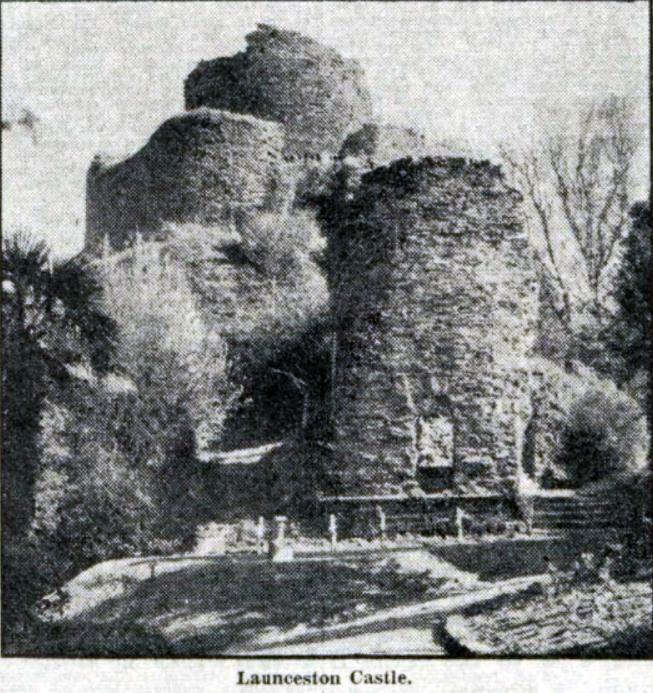 launceston-castle-1950