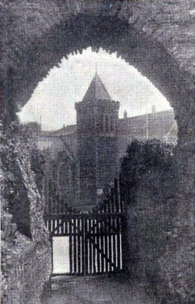 launceston-castle-western-entrance-1931