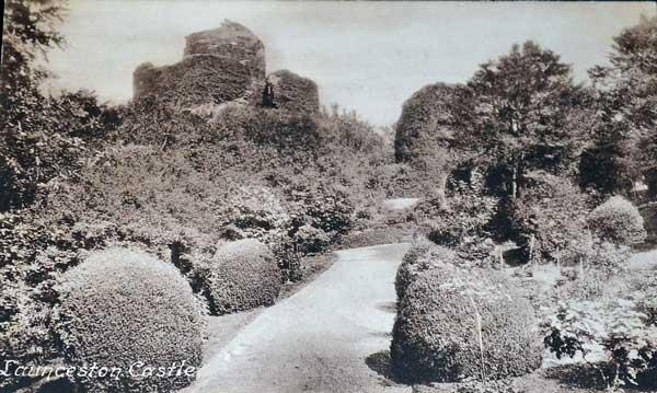 launceston-castle-in-1920
