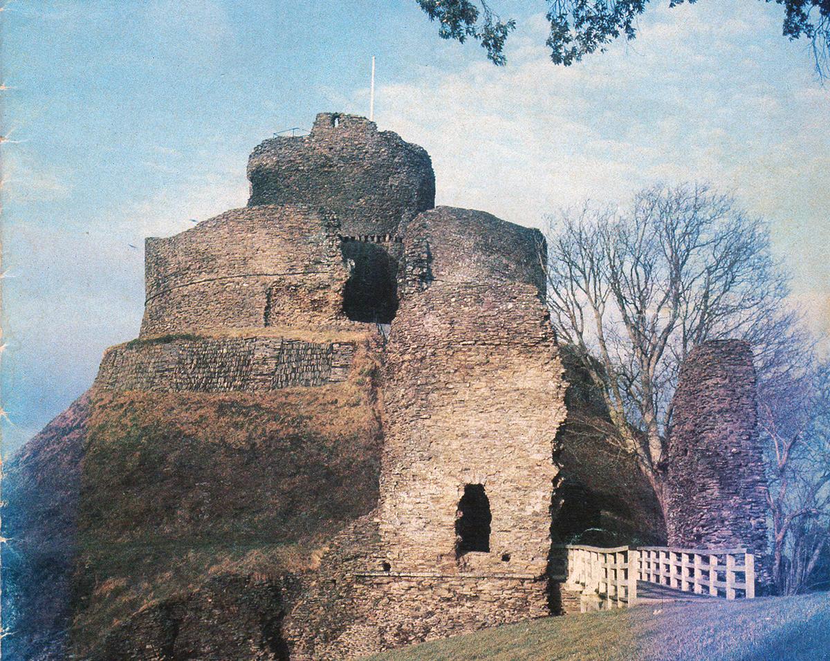 Launceston Castle in 1981.