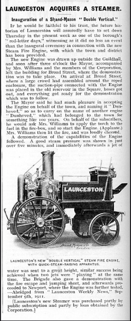 launceston-fire-brigade-aquires-steamer-1911