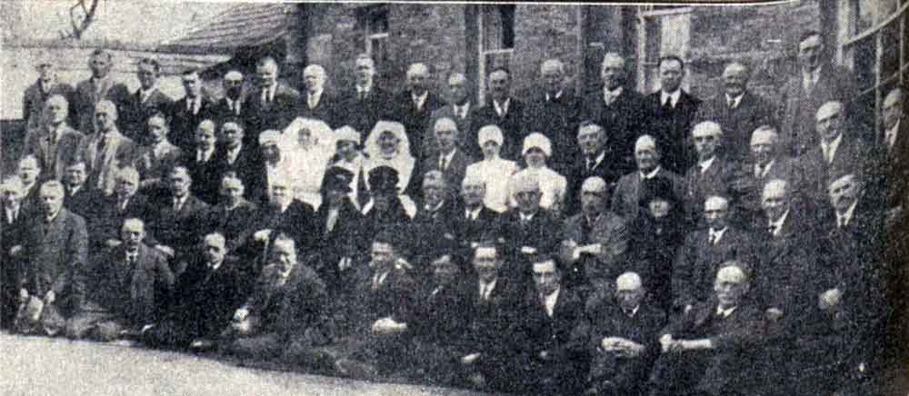 Launceston Guardians in March 1930 after their final meeting.
