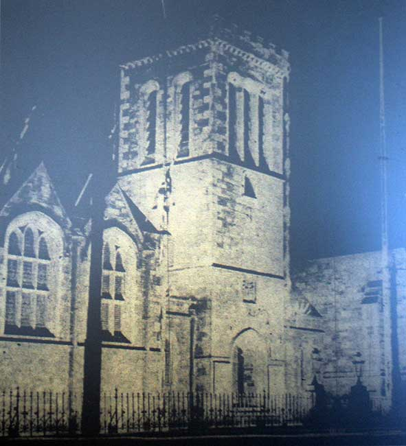 launceston-guildhall-floodlit-in-1937