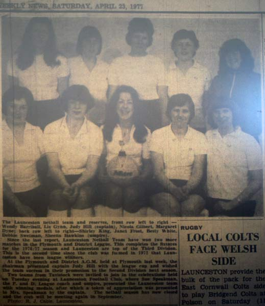 launceston-netball-team-in-1977