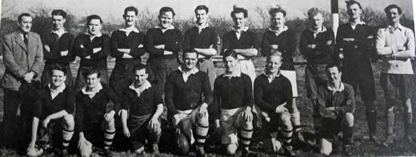 Launceston Rugby Team 1948-49