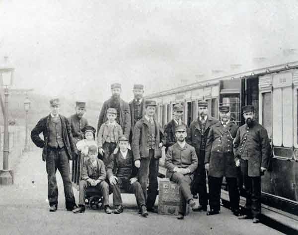 Launceston Railway Crew c.1900.
