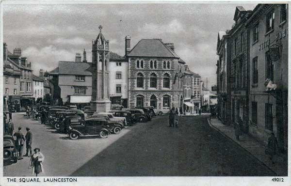 launceston-town-centre-c-1940s-1