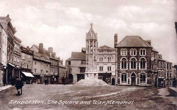 launceston-town-centre-in-1940