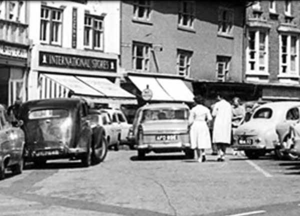 launceston-town-centre-in-1960