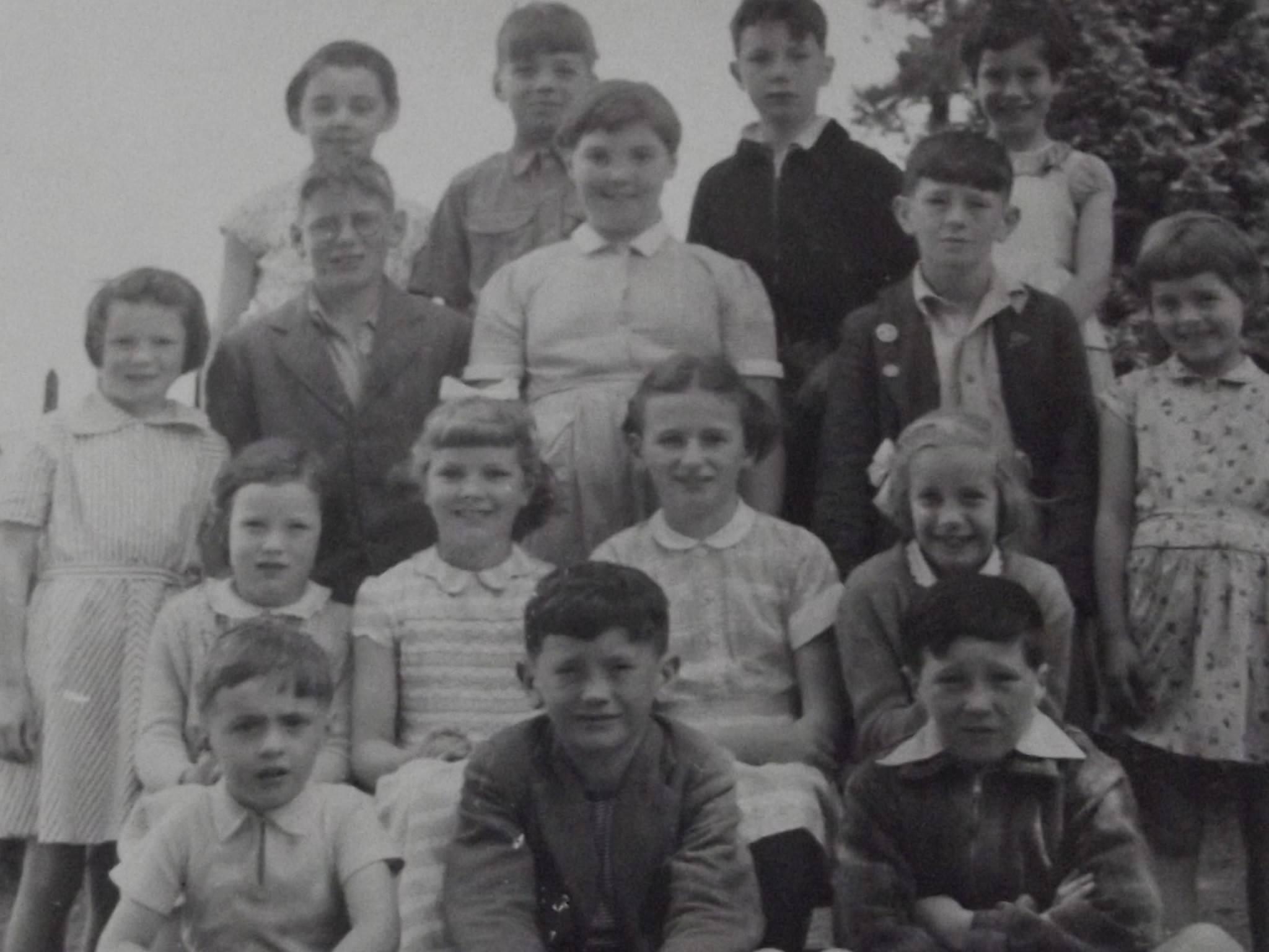 Lawhitton School in 1957.