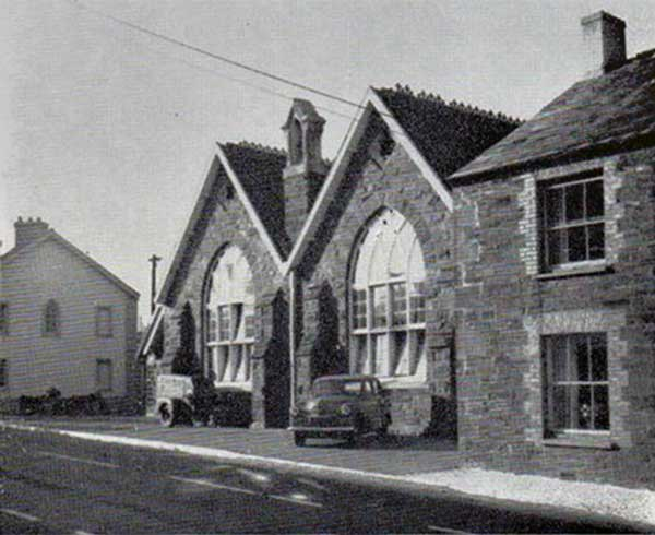 The Old School, Lifton c.1960.