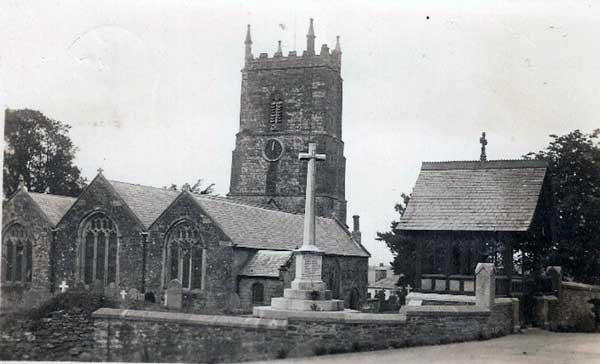 milton-abbot-church-in-the-1950s