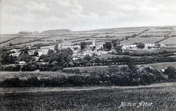 milton-abbot-village-view