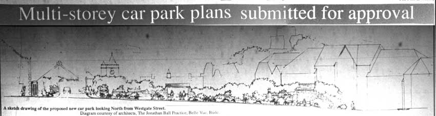 Launceston Multi Storey Plans released in Januay 1992.
