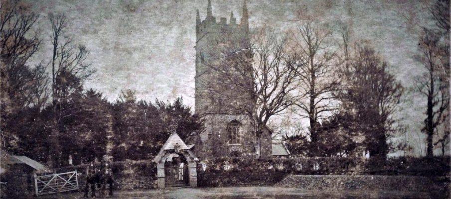 North Petherwin Church c.1910. Photo courtesy of Gary Lashbrook.