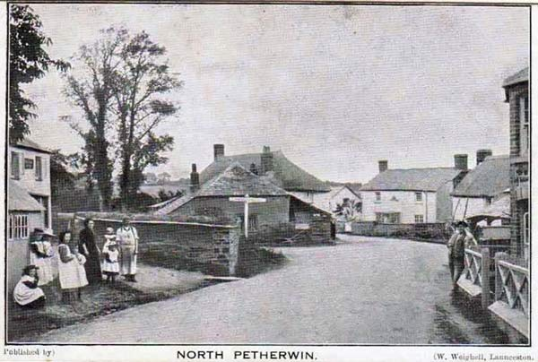 North Petherwin c.1900. Photo courtesy of Ray Boyd.