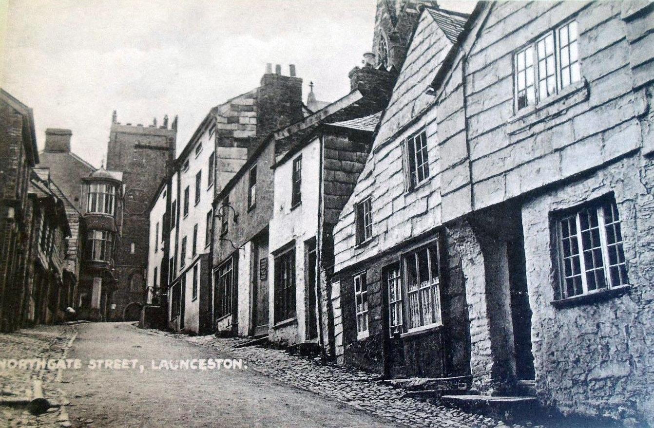 Northgate Street, Launceston c 1910