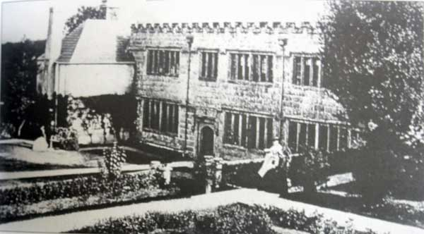 Penheale Manor in 1870.