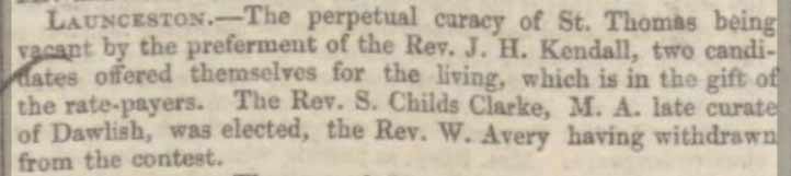 rev-samuel-clarke-exeter-and-plymouth-gazette-07-october-1848