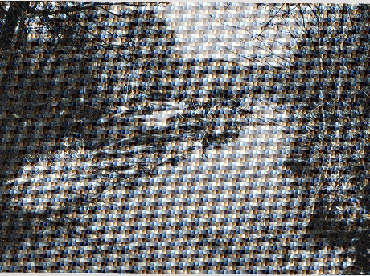 River Lyd from Southern Bridge in 1948.