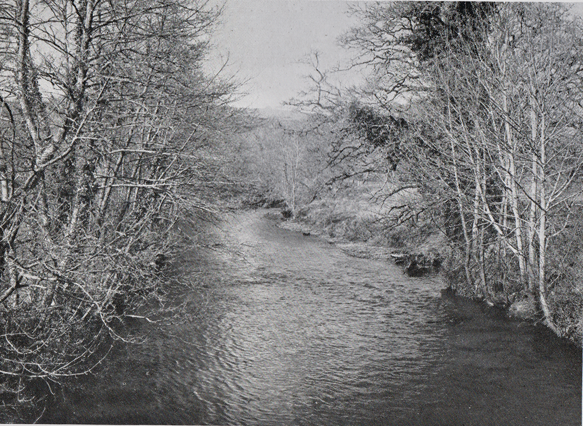 River Tamar from Polson Bridge in 1948.