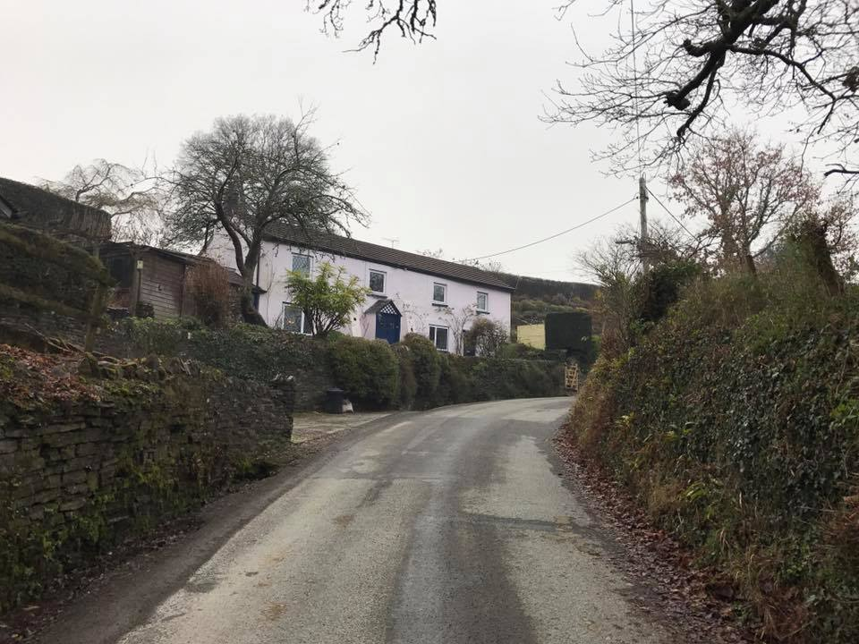 Rose Cottage, Leat Road, Lifton December 2016. Photo courtesy of David Gomm.