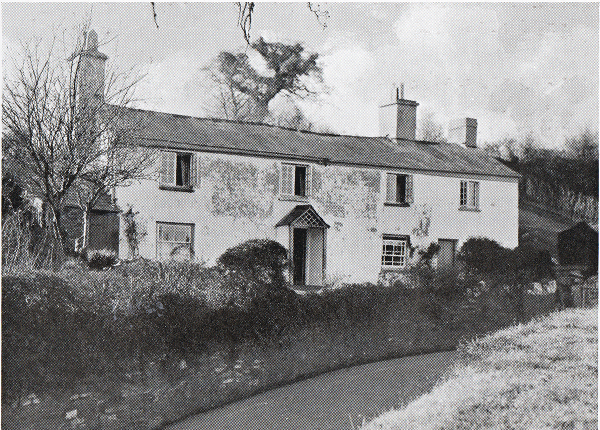 Rose Cottage, Lifton in 1948.