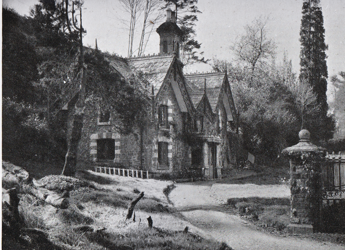 South Lodge, Lifton in 1948.