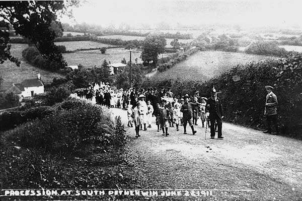 south-petherwin-procession-1911-1