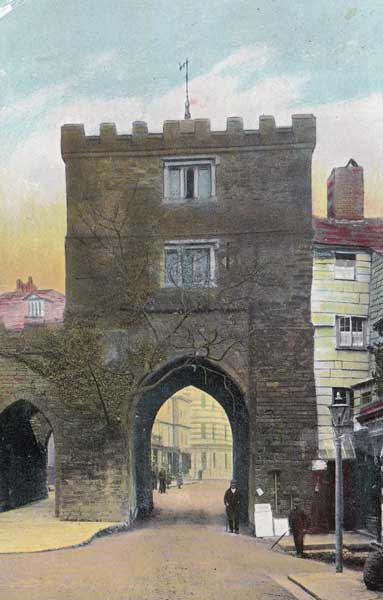 Launceston's Southgate in 1910