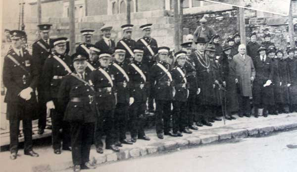 Launceston St. Johns Ambulance Brigade hall foundation stone laying ceremony in 1935.