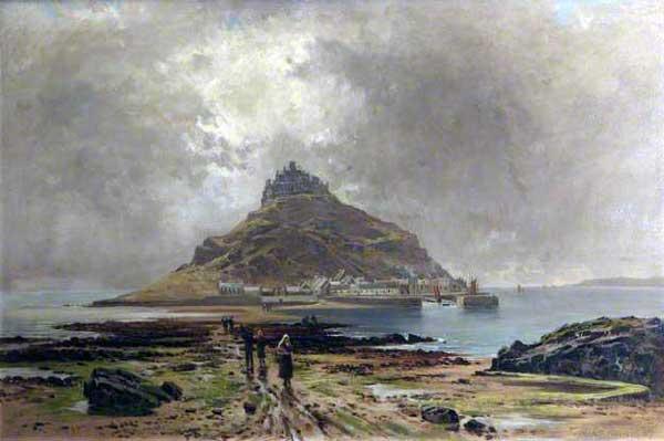 St. Michaels Mount by Arthur Bevan Collier.