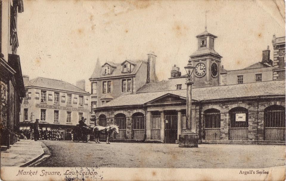 Launceston Butter Market c.1900.