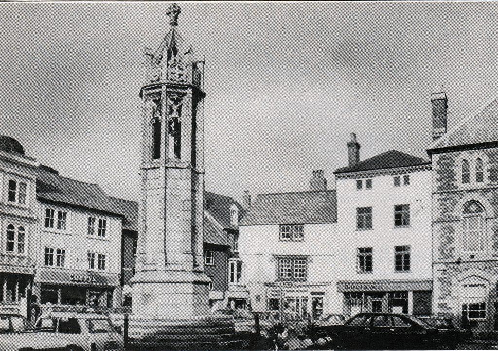 Launceston Town Centre in 1982.