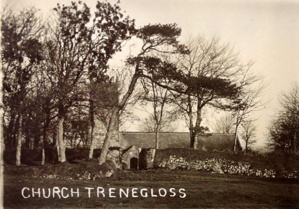 Treneglos Church c.1910