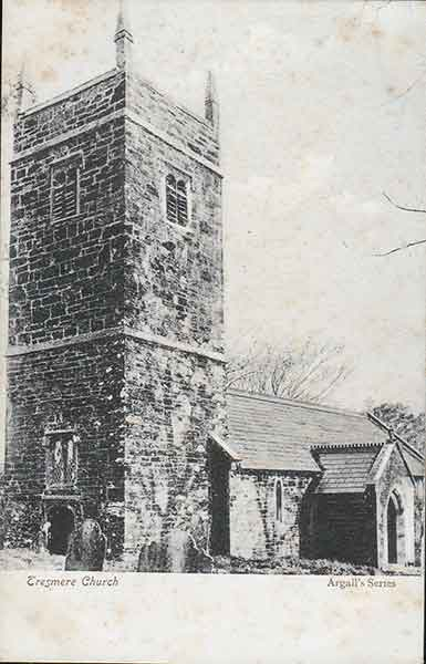 Tresmeer Church in 1910.