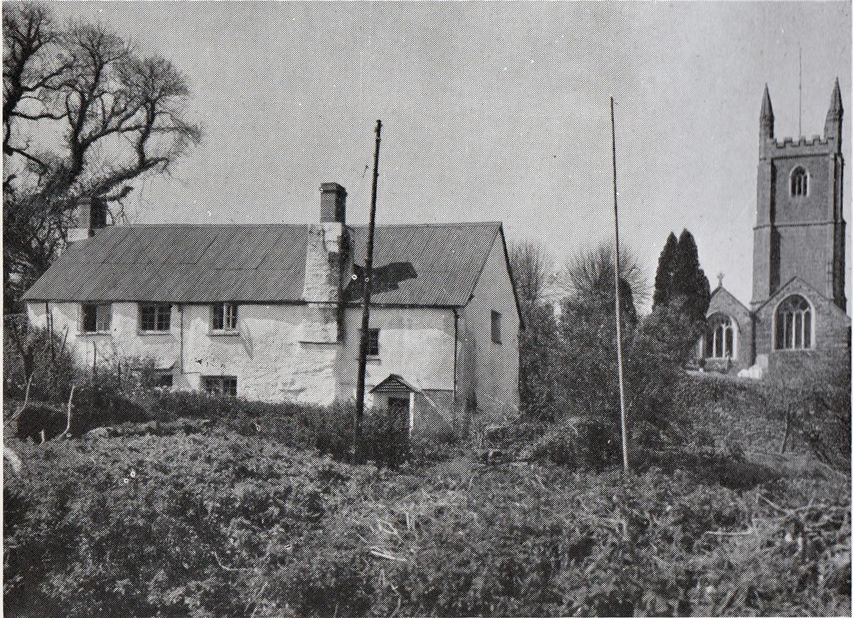 Two Cottges in Duntz Hill Lifton in 1948