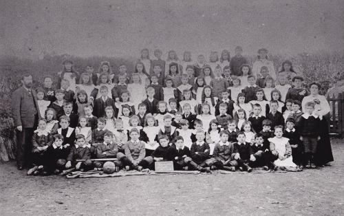 Werrington School c.1900.